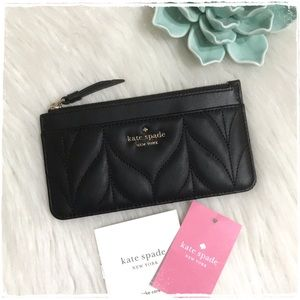 NWT! Kate Spade Briar Lane Quilted Large Card Case